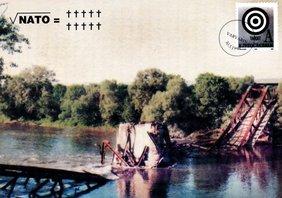 Postkarte Brücke Varvarin