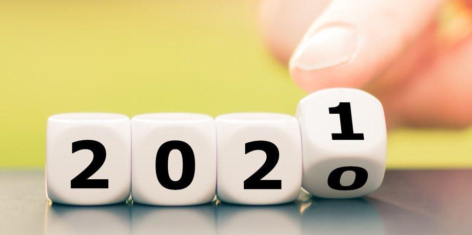 Das neue Jahr 2021 startet