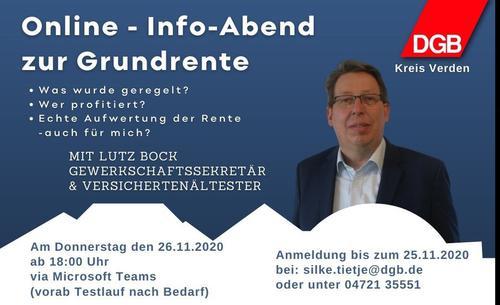 Online-Info Abend