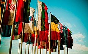 Internationale Fahnen Flaggen