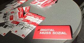Ausstellung Digital muss sozial