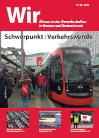 Titelbild der Ausgabe der WIR mit ÖPNV