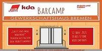Einladungsflyer Barcamp