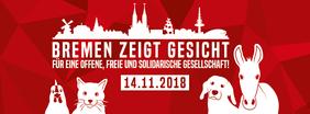 Aufruf zur Demonstration Bremen zeigt Gesicht