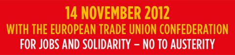 Für Arbeit und Solidarität: Nein zur sozialen Spaltung von Europa!
