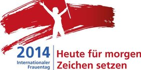 Logo Internationaler Frauentag 2014
