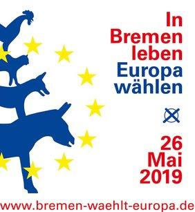 In Bremen leben - Europa wählen