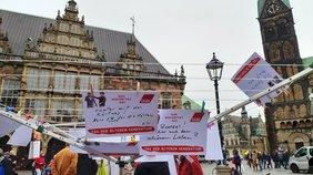 Forderungen und Wünsche der Kundgebungsteilnehmenden