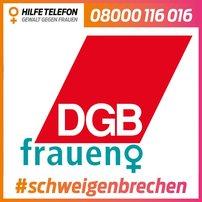 DGB Logo #schweigenbrechen