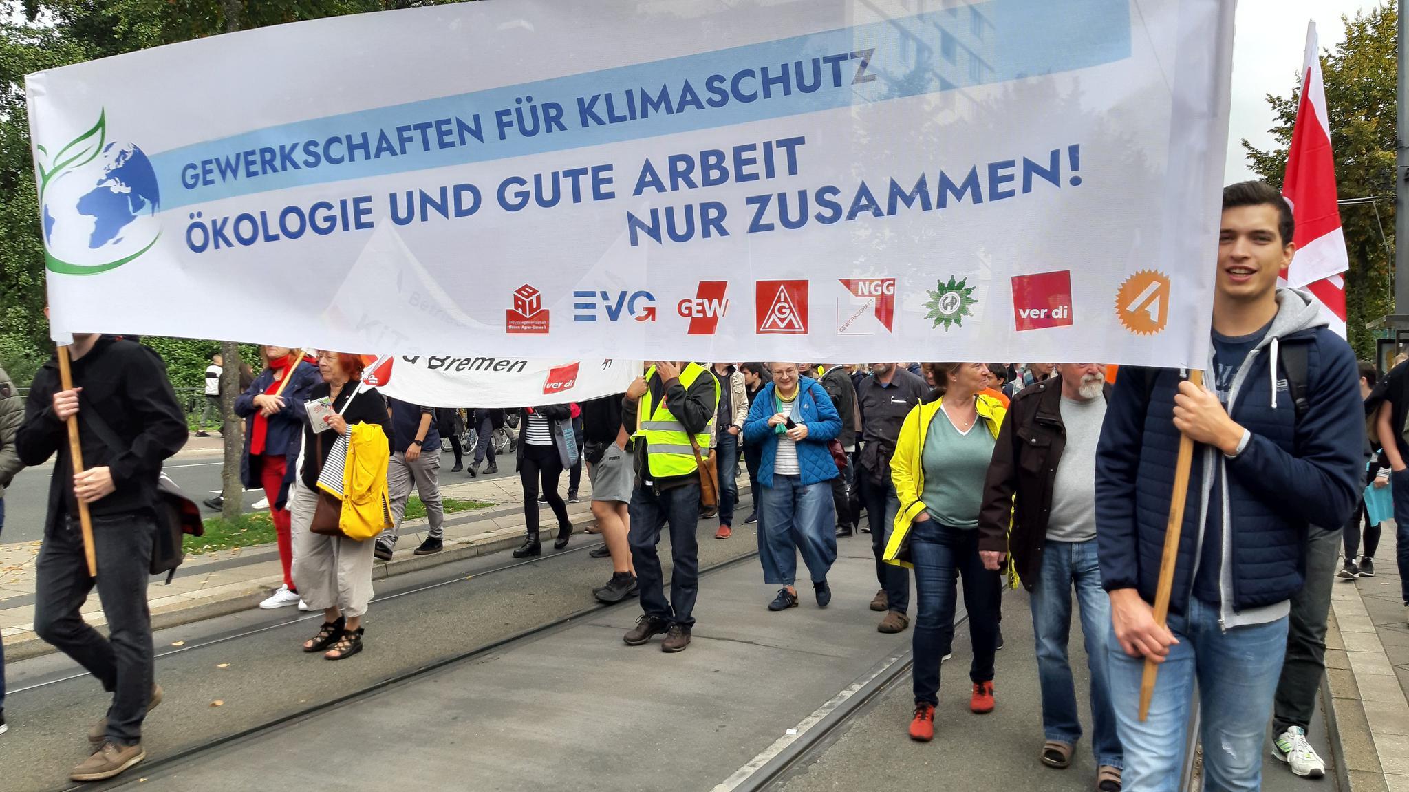 Klimademonstration Bremen