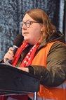 Svenja Krahl, junge IG BAU